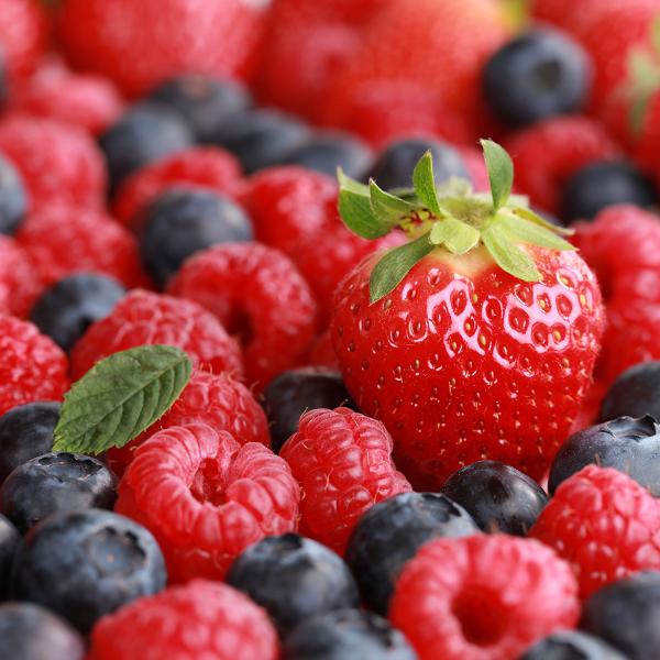 fructe2, capsune, afine, mure, zmeura, fructe de padure